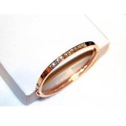 The Big European and American style fashion Korea 18k Gold Plated Diamonds Crystals Bracelet Bangle CHD 01