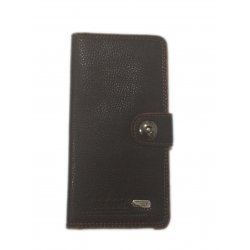 Dark Brown Leather Singal Loop Closer Wallet DAW-02