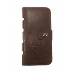 Dark Brown Leather Men Wallet DAW-03