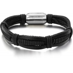 Men's Handmade Leather Fashion Bracelet CHBD-28