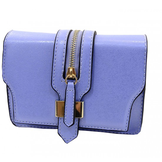 Women Sky Blue Color Cross Body Bag CLB-08