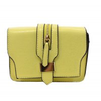 Women Yellow Color Cross Body Bag CLB-12