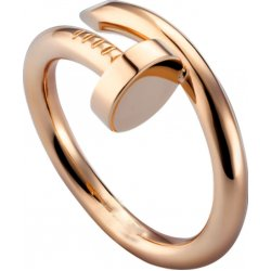 Women's Nail Style Rose Gold Color Titanium Steel Ring CCR-22