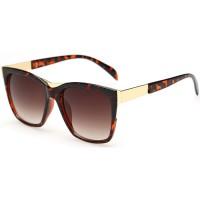 European Style Retro Fashion Leopard Color Sunglasses G-01 (Leopard)