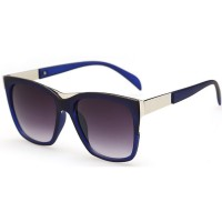 European Style Retro Fashion Royal Blue Color Sunglasses G-01 (Blue)
