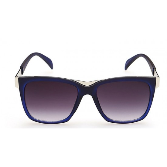 European Style Retro Fashion Royal Blue Color Sunglasses G-01 (Blue) image