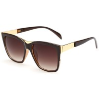 European Style Retro Fashion Dark Brown Color Sunglasses G-01 (Brown)