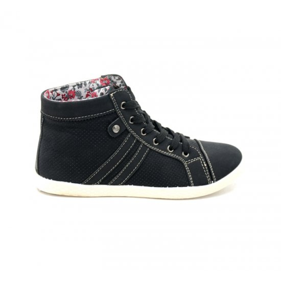 Bata North Star Black Color Sneaker Shoes BTSW-38
