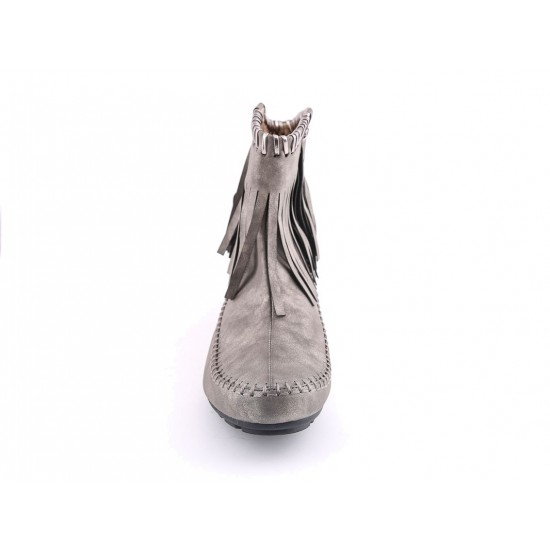 Stylo Ladies Gray Color Casual Shoes LWSC-05