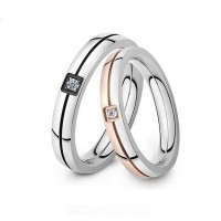 Classic Shinning Crystal Ring  Forever Love For Romantic Couple Ring CBR-61