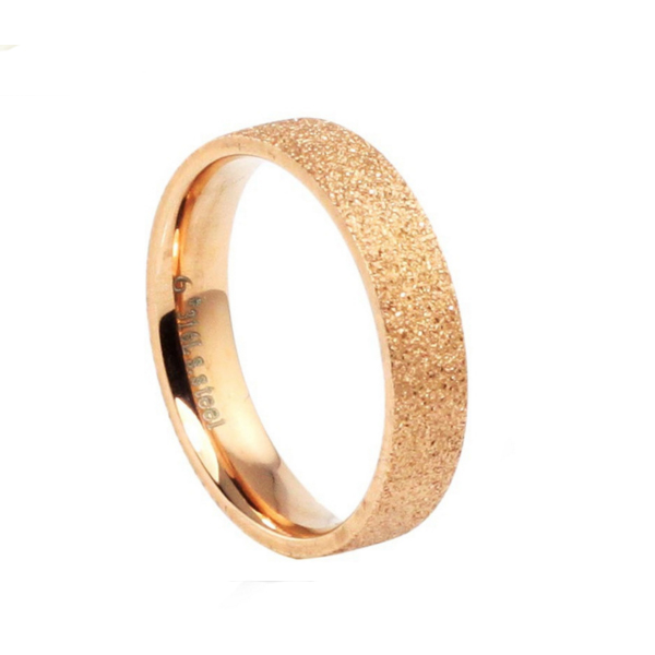 Women Rose Gold Plated Romantic Modern Jewelry Ring CBR-71 image