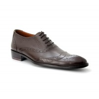 Bata Brown Color Ambassader Dress Shoes B-02br