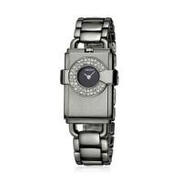 WEIQIN Black High End Square Diamond Ladies Watch CHD-64BK