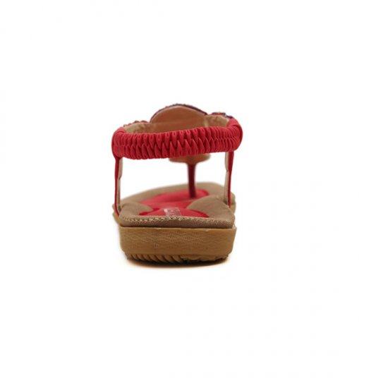 Bohemian Beaded Clip Women Sandal CSW-04R