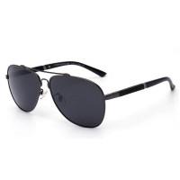 PORSCA Style Blue Color Polarized Driving Yurt Sunglasses For Men CHG-04BL