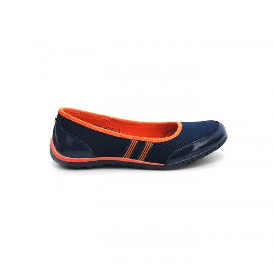 Bata North Star Dark Blue Color Womens Casual Shoes B-124