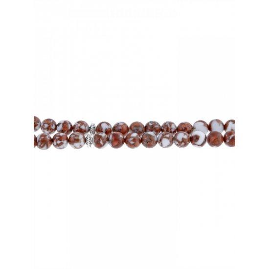 Masbaha Unisex Sun Stone Prayer Beads ANM-12 image