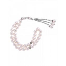 Masbaha Unisex Blush Mother-of-Pearl Prayer Beads  ANM-15