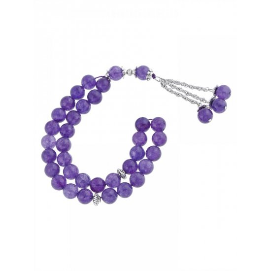 Masbaha Unisex Agate Gemstone Prayer Beads ANM-24 image