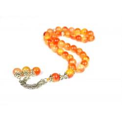 Masbaha Unisex Genuine Gemstone Prayer Beads  ANM-25