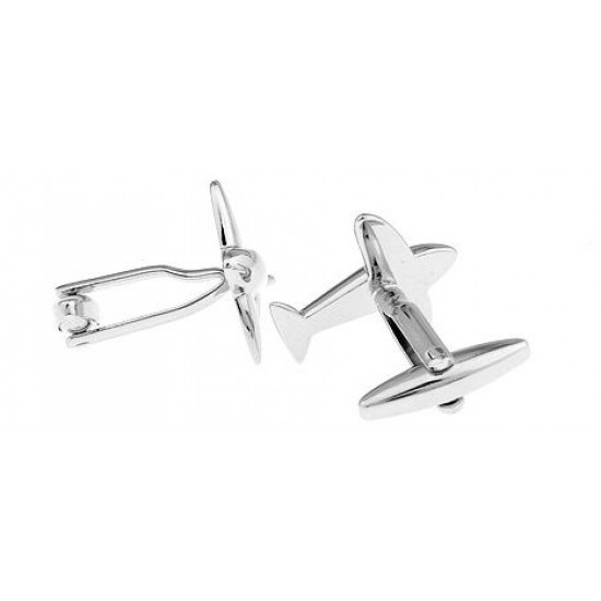 Look StylishCuff-links Airline Airplane Cuff Link for Men CFL-03