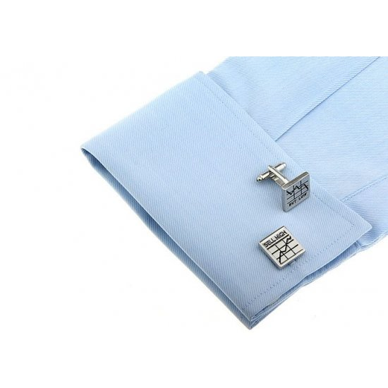 Look Stylish Low Prices Stock Market Pattern French Shirt Fashion Personality Mens Cufflinks CFL-10 image