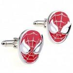 Look Stylish Spiderman Shirt Button Cufflink Cfl 14|image