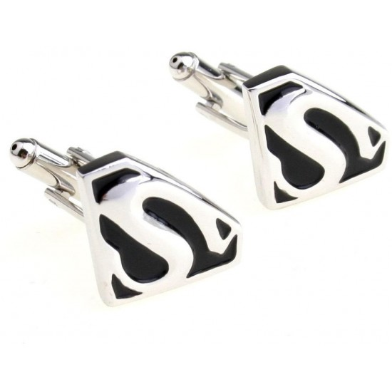 Look Stylish SUPER HERO MENS WEDDING NOVELTY CUFFLINKS CFL-21