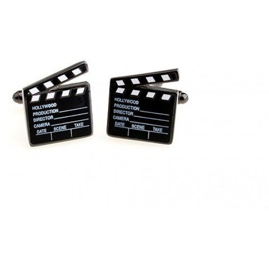 Look Stylish Movie Short Taker Design Cufflinks for Men CFL-30 image