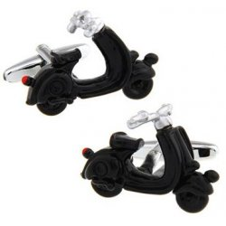 Look Stylish Electric Motorcycle Shape Cufflink For Mens CFL-44