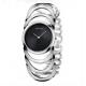 CK Style Ladies Silver Hollow Bracelet Watch W101S