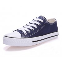 Women Blue Color Comfty Canvas Shoes For Women WS-03BL