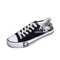 Men Amazing Design Black Canvas Sneaker Shoes MS-01BK