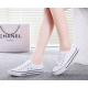 Women White Color Comfty Canvas Shoes For Women WS-03W image