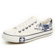 Men Amazing Design White Canvas Sneaker Shoes MS-01W