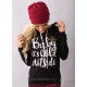 European Women Fashion  Quoted Long Hoodie H-09BK