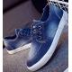 Women Navy Blue Denim Canvas Sneaker Shoes S-13BL