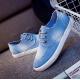 Women Light Blue Denim Canvas Sneaker Shoes S-13LB