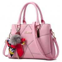 Women Fashion Black Large Korean Version Messenger Hand Bag WB-10PK