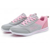 Women Pink Sports Breathable Air-Cushioned Joggers Shoes S-20Pk