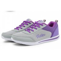 Women Purple Sports Breathable Air-Cushioned Joggers Shoes S-20Pr