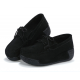 Women Black High Casual Wedge Shoes S-16BK
