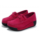 Women Pink High Wedge Casual Shoes S-16PK image