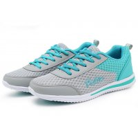 Women light blue Sports Breathable Air-Cushioned Joggers Shoes S-20LB