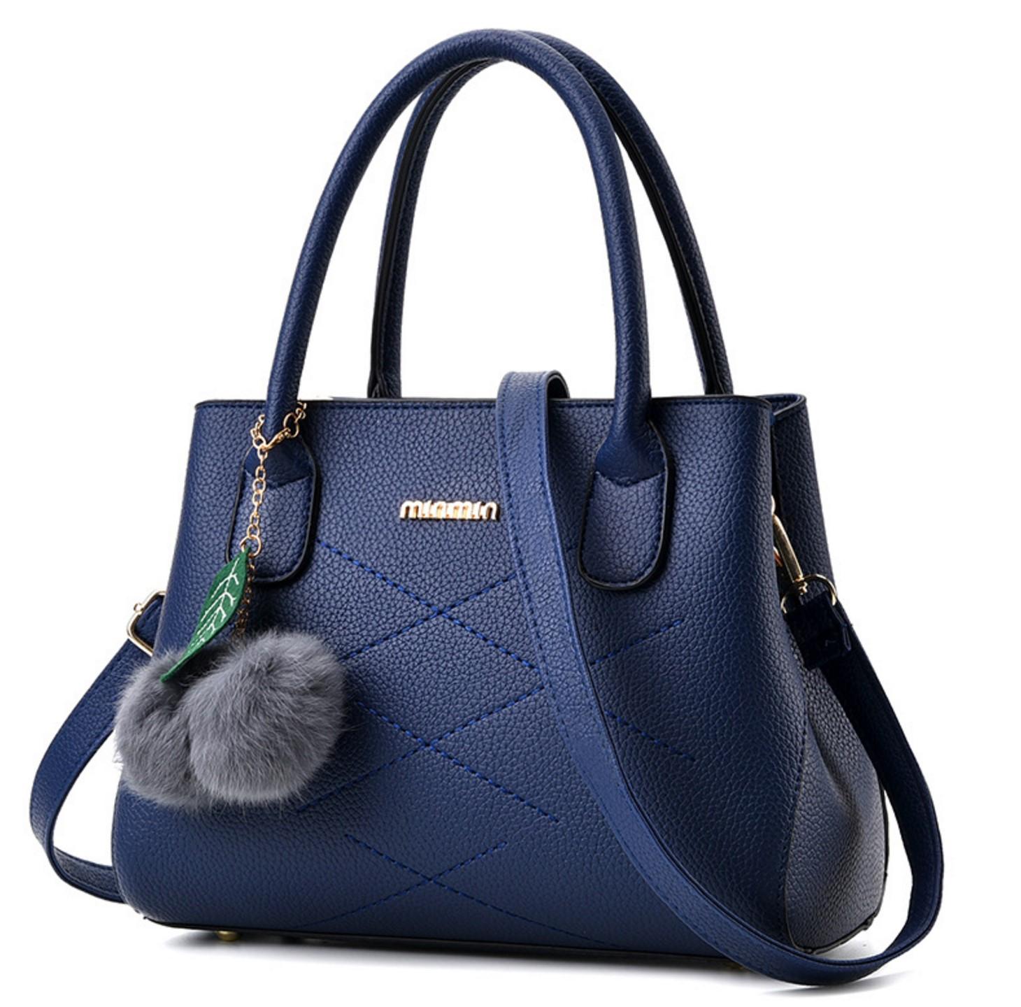 553159331b465 Buy Wome Blue Leisure Shoulder Messenger Bag WB-13BL | Fashion | Business  Arcade