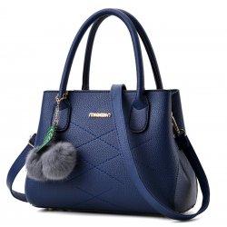 Wome Blue Leisure Shoulder Messenger Bag  WB-13BL