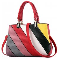 Women Fashion Graffiti Red Shoulder Messenger HandBag WB-14RD