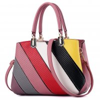 Women Fashion Graffiti Pink Shoulder Messenger HandBag WB-14PK