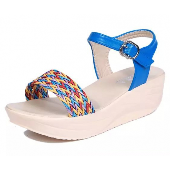 Women Summer New Generation High Wedge Sandals S-51 image