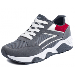 Women Grey Casual Jogging Breathable Sports Shoes S-32GR